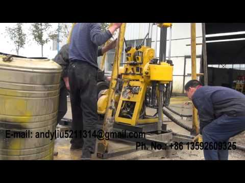hydraulic drilling rig video 18 for upload