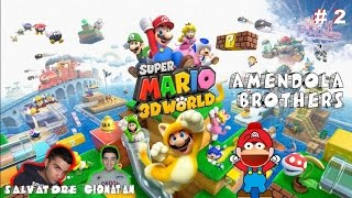 Wii U -  Super Mario 3D World : A caccia di stelle [Gameplay Ita] # 2