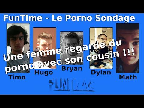 Funtime : Le Porno Sondage - Une Femme Regarde Du Porno Avec Son Cousin ! video