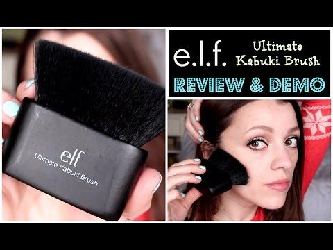 ELF Ultimate Kabuki Brush   Review & Demo