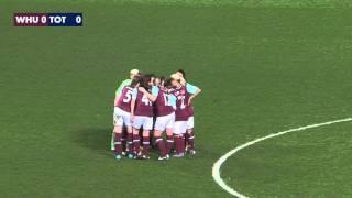 West Ham Ladies v Spurs Ladies   Upton Park