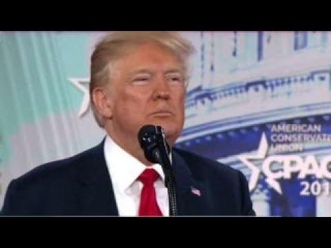 Trump touts 'blazing' US economy at CPAC