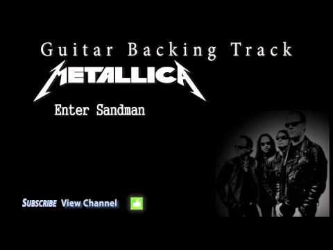 Metallica - Enter Sandman (Guitar Backing Track) W/Vocals
