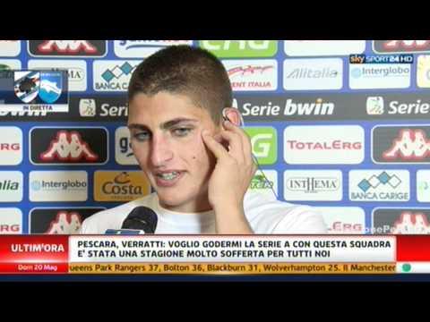 Pescara in SERIE A - Intervista a Marco Verratti