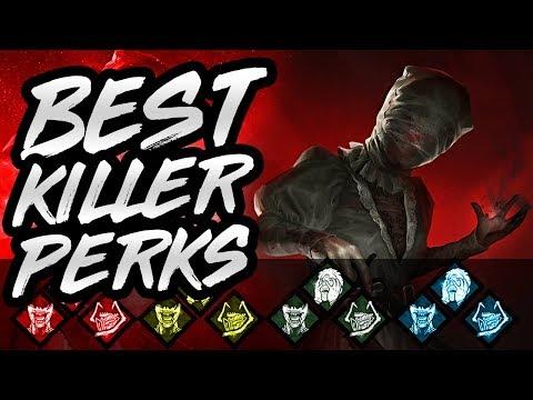 Dead By Daylight Best Killer Builds - DBD Best Perks To Use On Every Killer DBD Killer Tips