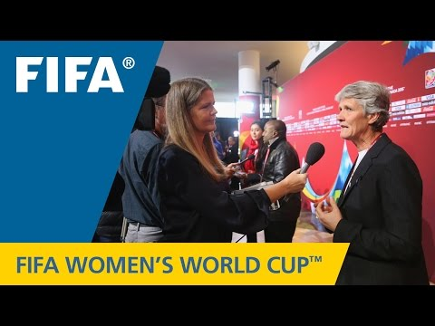 Sweden's Pia Sundhage - Canada 2015 Final Draw Reaction