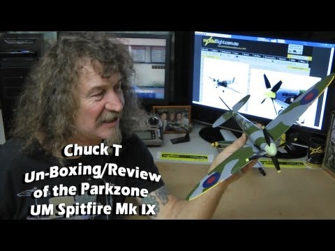 Parkzone UM Spitfire with AS3X.... Review/unboxing