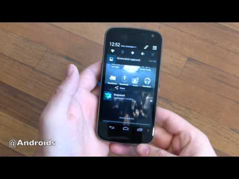 Verizon Galaxy Nexus Android 4.2.1 (CM10.1) Hands-on