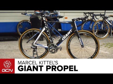 Marcel Kittel's Giant Propel