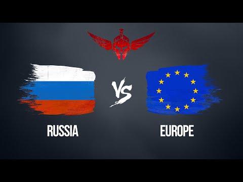 СБОРНАЯ РОССИИ VS СБОРНАЯ ЕВРОПЫ   4x4 War Thunder