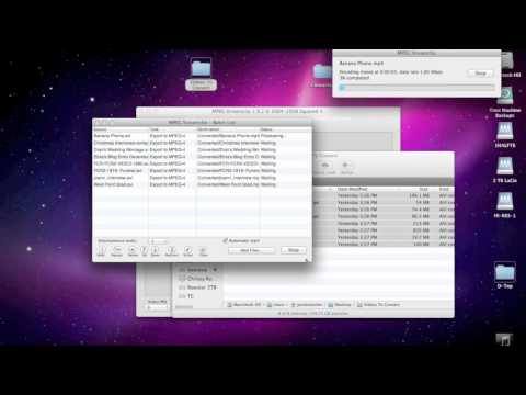 MPEG StreamClip Multiple Movie Conversions