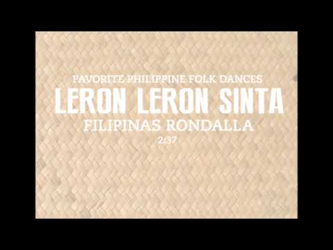 Leron Leron Sinta (Audio Only) - Favorite Philippine Folk Dance (Filipinas Rondalla)