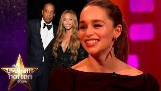 Emilia Clarke Cried When She Met Beyonce & Jay Z | The Graham Norton Show