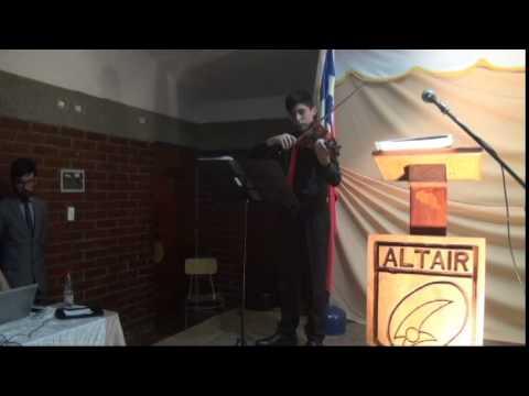 Julio Buch Krumell Presentación Colegio Altair - Can´t help falling in love - Elvis Presley