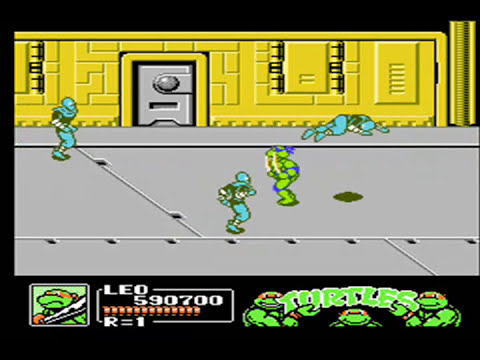 Teenage Mutant Ninja Turtles 3 - The Manhattan Project - Nes - Full Playthrough