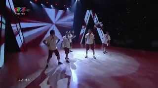 """Quang Đăng nhảy """"Nóng Quá Đi"""" - Bước Nhảy Hoàn Vũ Nhí"""