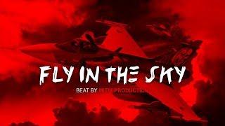 """FLY IN THE SKY"" Trap Beat Instrumental Rap Hip Hop Beats Instrumentals | Mitiv"