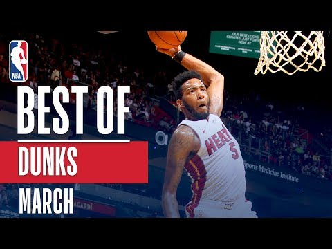 NBA's Best Dunks | March 2018-19 NBA Season