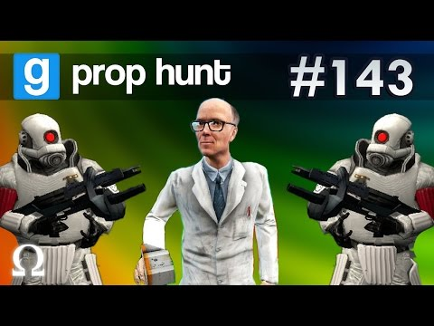 GNOMES IN THE GRASS, DIRTY SPOT! | Prop Hunt #143 Funny Moments