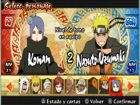 Naruto for PlayStation Portable - Игры по Наруто на PSP