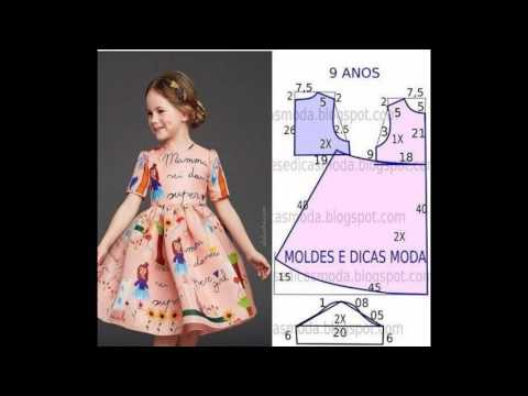Выкройки платьев для девочки 110 рост