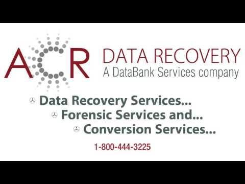 Data Recovery | IT Forensics | Media Conversion | Data Conversion