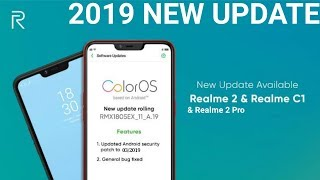 Realme C1, Realme 2 Pro, and Realme 2 gets ColorOS and March Android Security Patch