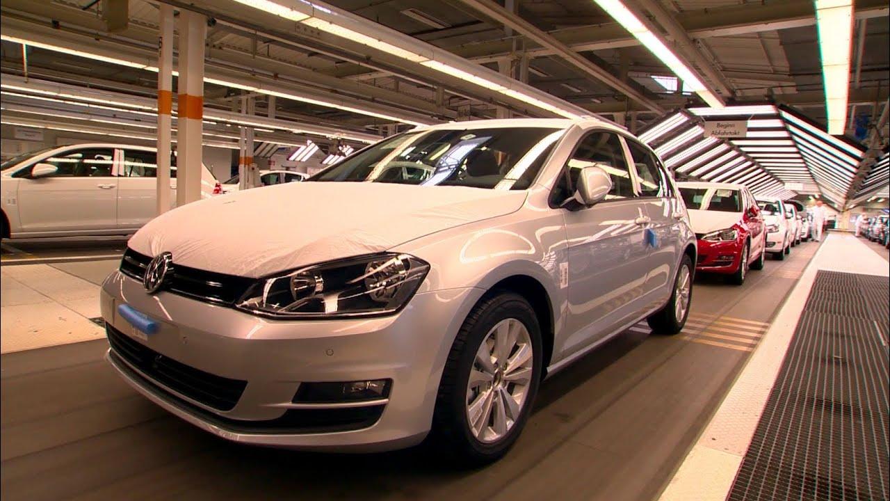 VW Golf Mk 7 Production, Wolfsburg plant, 2013 - YouTube