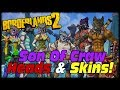 Borderlands 2 New Heads & Skins Hammerlock vs Son Of Crawmerax Headhunter Pack DLC!