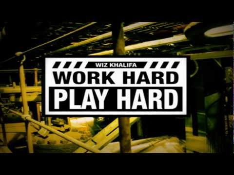 Wiz Khalifa - Work Hard, Play Hard (instrumental W  Hook) video
