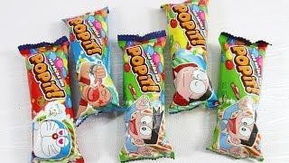 Gia đình ngón tay bóc kẹo PoPit! học màu sắc – PoPit Candy Finger Family Song | Bắp Bắp Channles