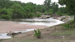 Llegada de la creciente del Río San Antonio. Parte 2.