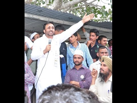 Bhagwant Maan speach at kuthala - Aam Aadmi Party Sangrur