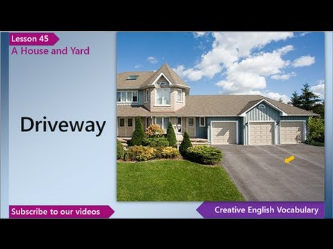 Learn English English Vocabulary Lesson 45 A House And