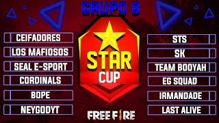 ★STAR CUP★ CLASSIFICATORIAS GRUPO B #CAMPEONATO #FREEFIRE