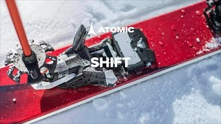 Atomic SHIFT binding 2018/19