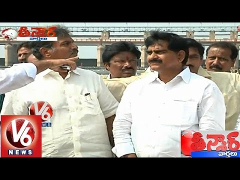AP TDP leaders Impeded for Telangana power units in Srisailam - Teenmaar News