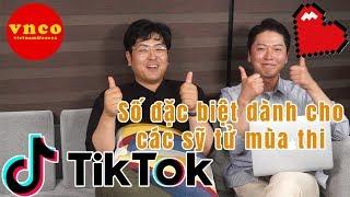 Korean reaction Tik tok số đặc biệt dành cho sỹ tử mùa thi