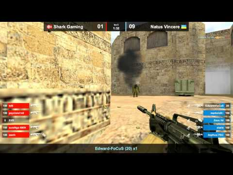 Na`Vi vs. Shark gaming @ dust2