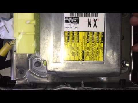 2014 Is350 airbag module replacement