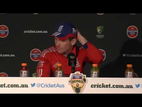 Eoin Morgan fronts up