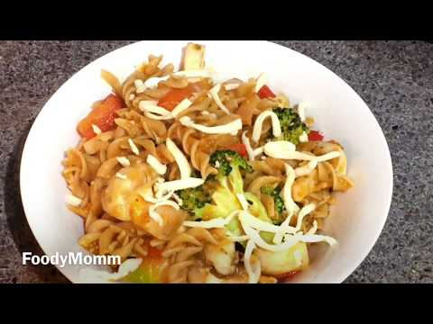 HEALTHY RED SAUCE PASTA | PASTA IN RED SAUCE | TOMATO PASTA RECIPE | HOW TO MAKE PASTA