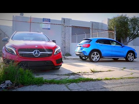 2015 Mercedes-Benz GLA250 & GLA45 AMG Review - Kelley Blue Book