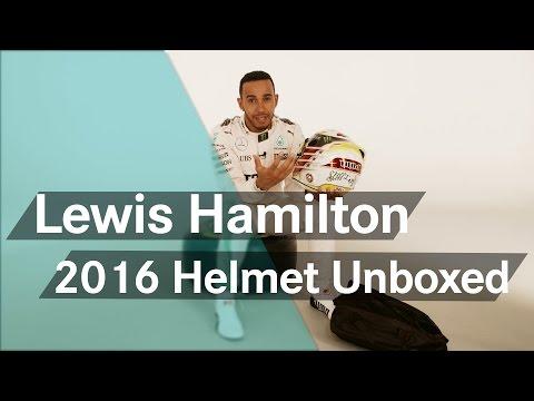 Unboxing F1: Lewis Hamilton's new 2016 helmet