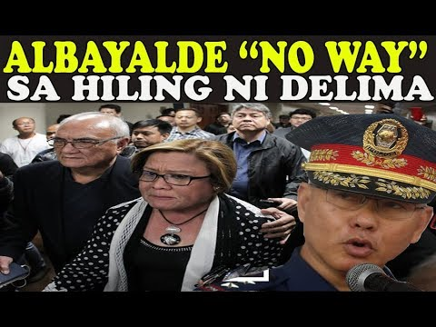 DUTERTE LATEST NEWS|KAHILINGAN NI DE LIMA TABLADO KAY ALBAYALDE|PHNEWS|BREAKING NEWS|JULY 12 2018