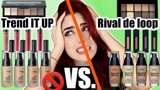 FAIL🚫 TREND IT UP VS. RIVAL DE LOOP I dm vs Rossmann Drogerie Vergleich Dupes I Luisacrashion