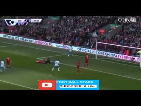 Papiss Cisse Goal Liverpool vs Newcastle United 2 2 Premier League 23042016