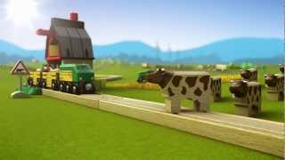 BRIO Railway Farm world