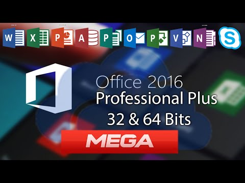 Descargar E Instalar Microsoft Office Professional Plus 2016 Full En Español 32 & 64 Bits MEGA