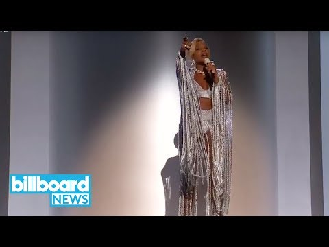 Mary J. Blige Performs 'Set Me Free', 'Love Yourself' With A$AP Rocky at BET Awards   Billboard News thumbnail